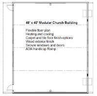 Used modular church building for sale