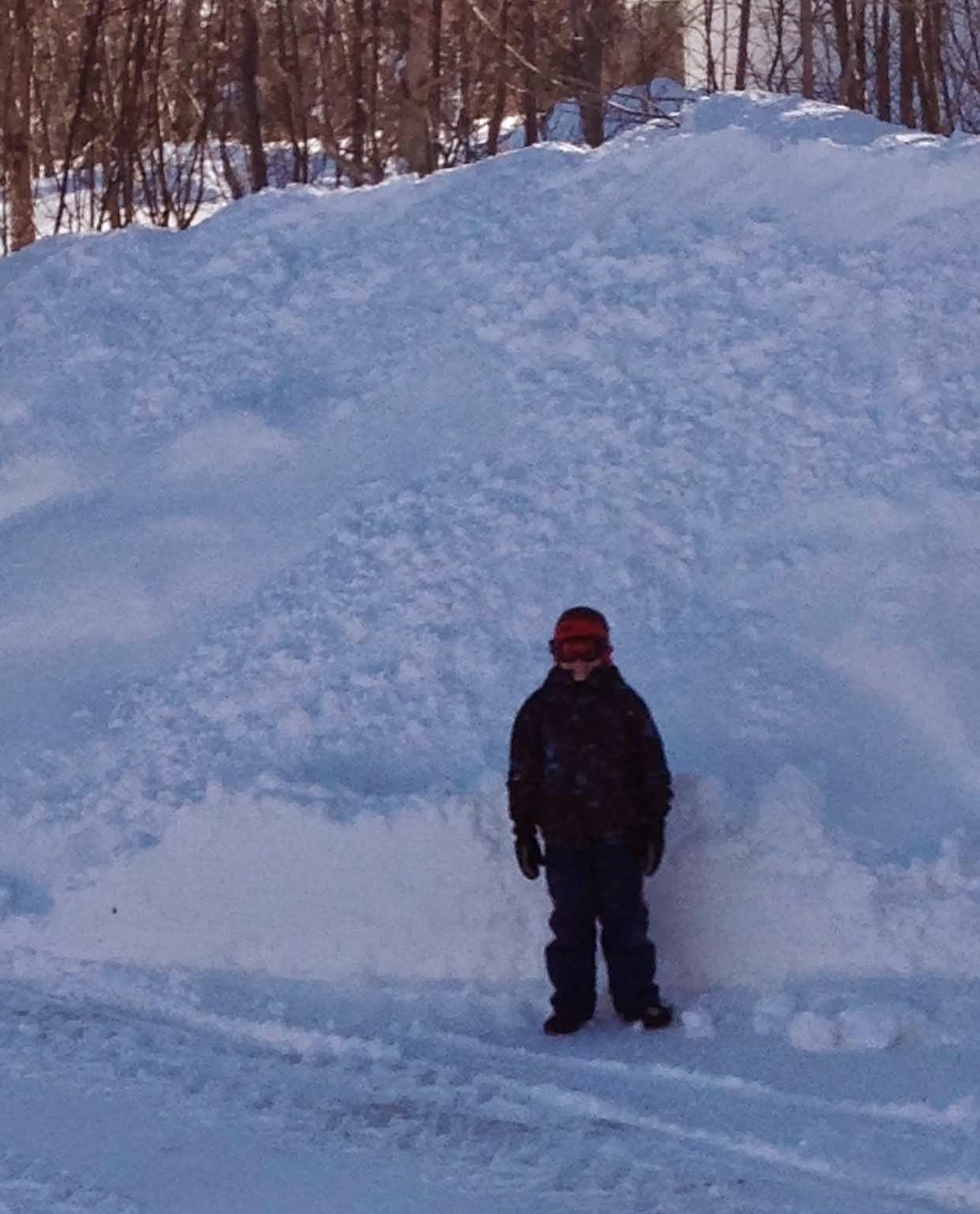 PEI snow - winter 2014-2015