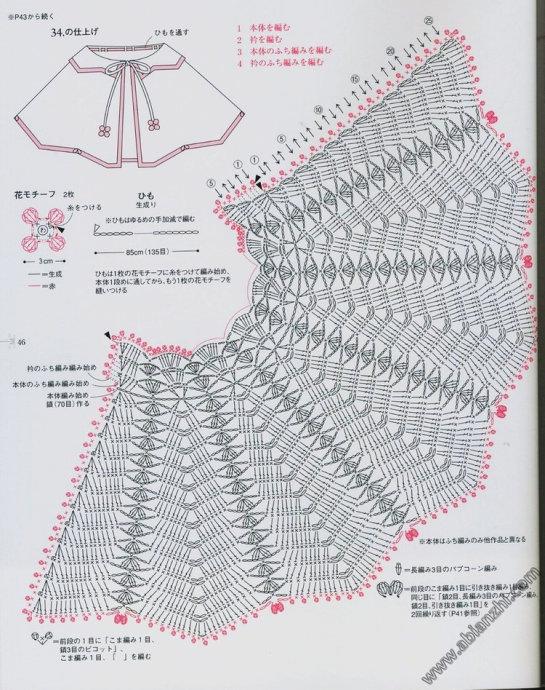 Materiales gráficos Gaby: Capas para niñas patrones