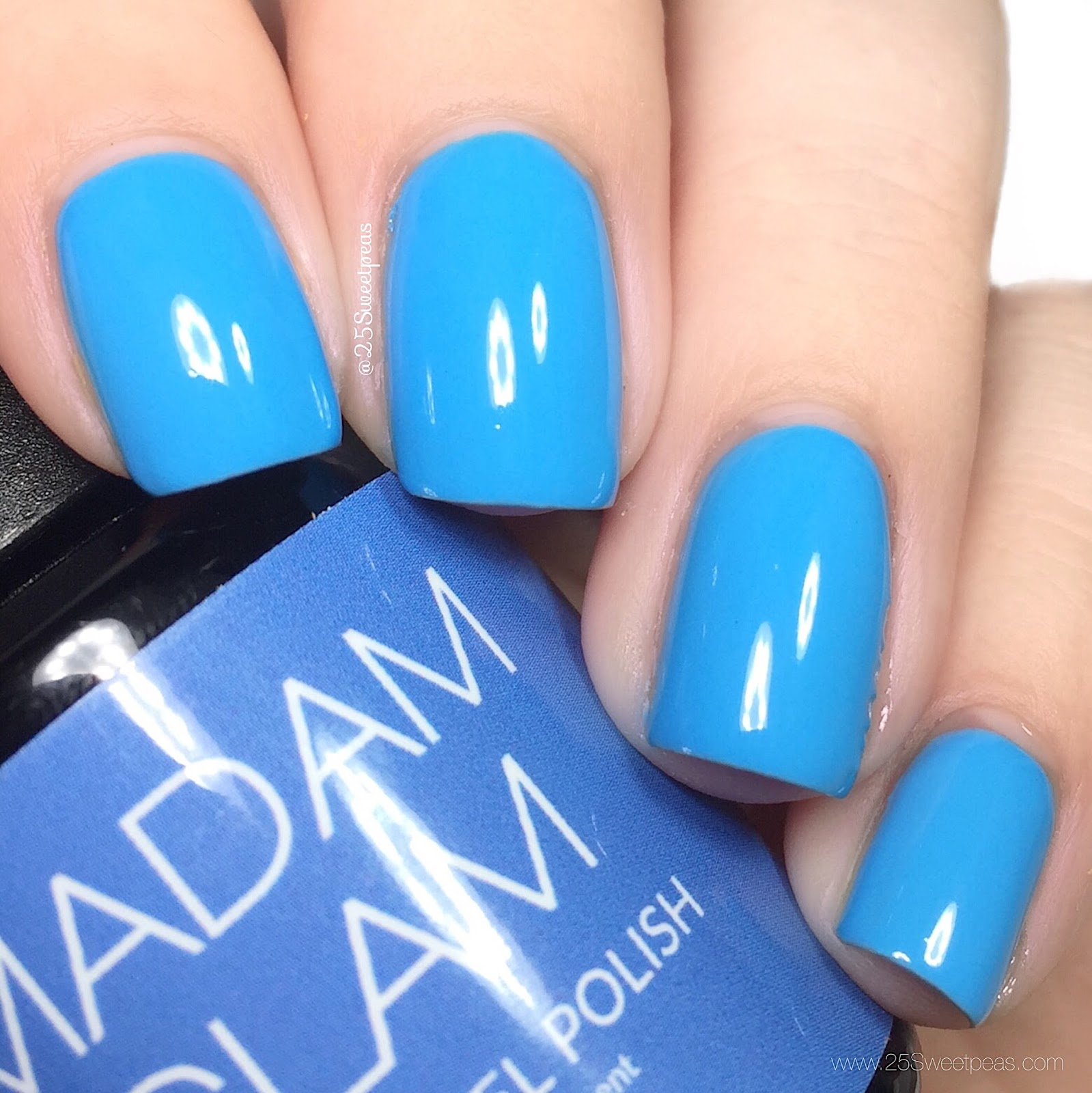 Madam Glam Aqua Blue