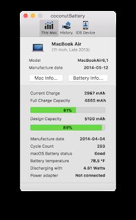 Macbook Batarya Programı
