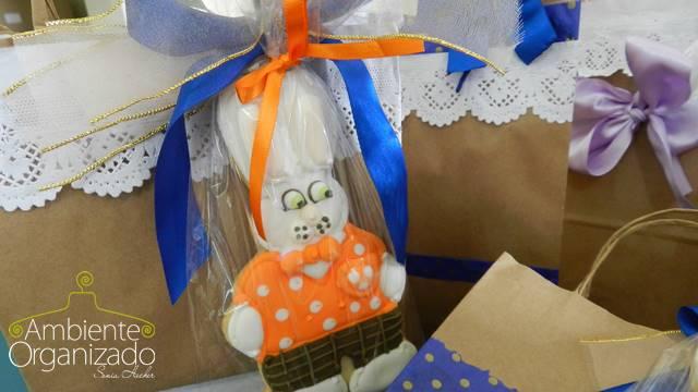 Biscoito coelho da Páscoa
