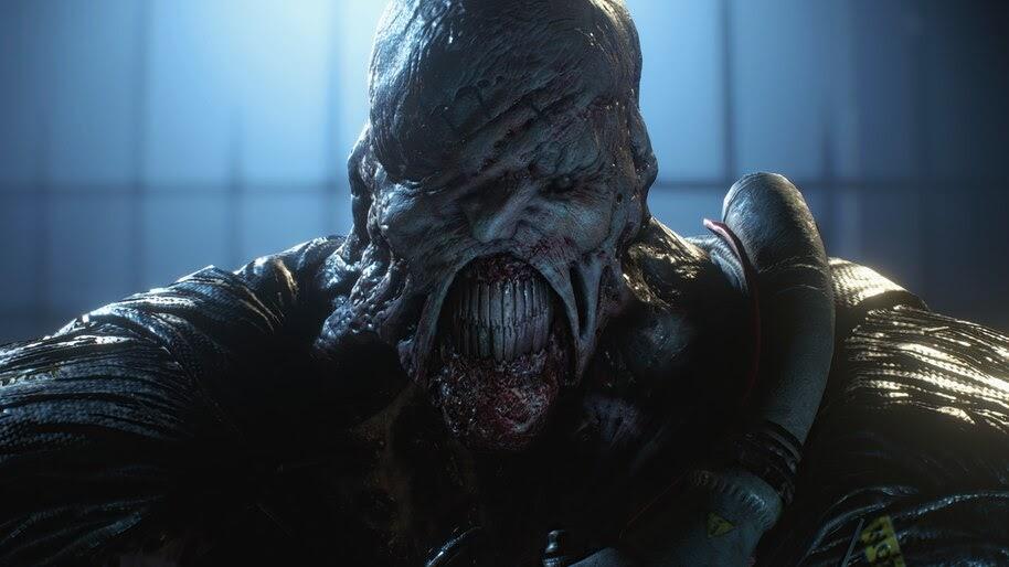 Nemesis, Resident Evil 3, Remake, 4K, #7.1482