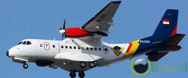 Pesawat CN-235 di IPTN (berganti nama menjadi PTDI)