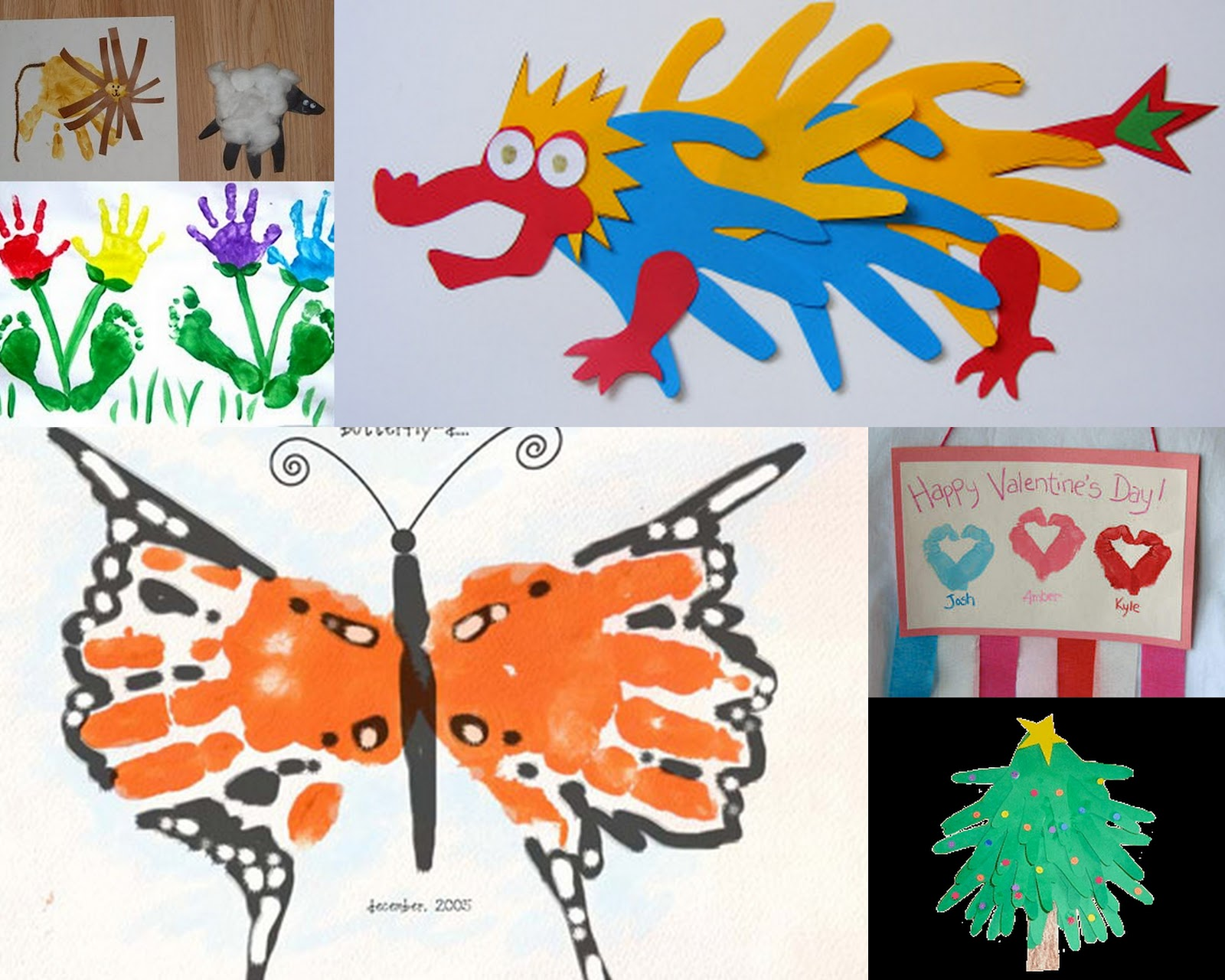 Handprint Craft Ideas Cute Crafts To Make For Mother Day