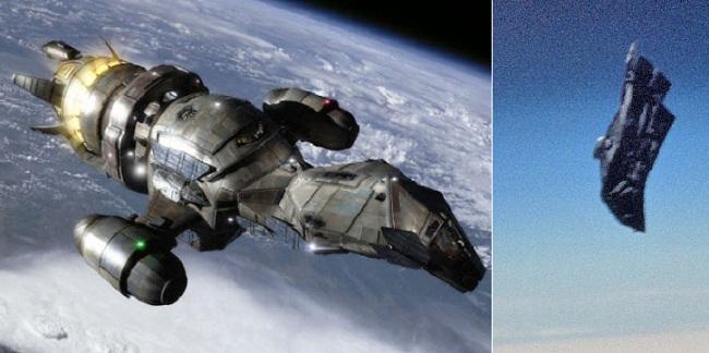 Για άλλη μια φορά εμφανίζεται ο θρυλικός  δορυφόρος Black Knight και καταγράφηκε από το ISS Βίντεο