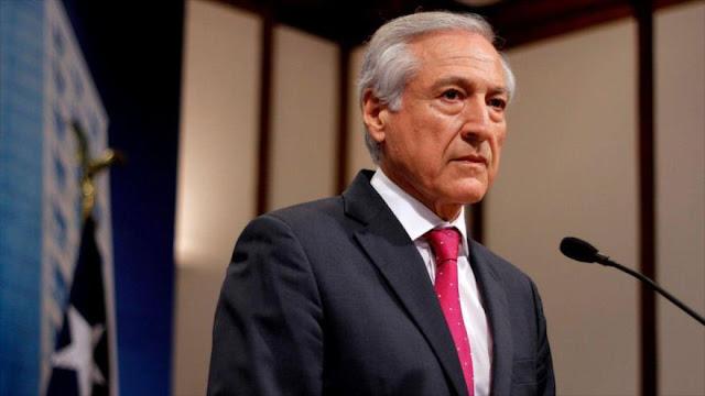 Venezuela llama al canciller chileno 'esclavo' de la ultraderecha
