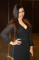 Kyra Dutta in black At Rogue Movie Audio Launch ~  049.JPG