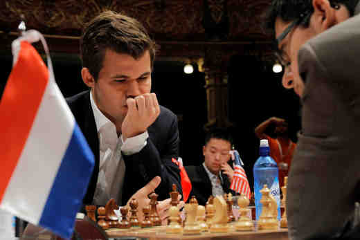 Ronde 5 à Bilbao: Anish Giri annule face à Magnus Carlsen - Photo © site officiel