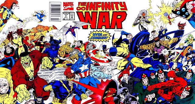 La Guerra del Infinito - Portada del Número 2