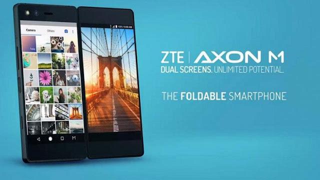 """Buongiornolink - Arriva """"Axon M"""" lo smartphone con due display"""