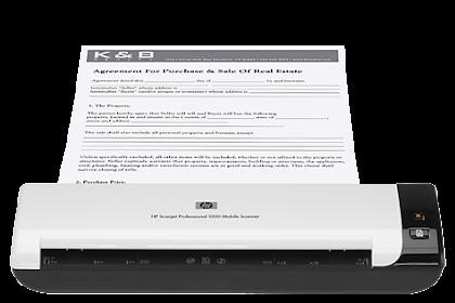 Download HP Scanjet 1000 Drivers