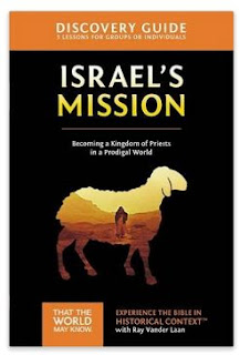 Israel's Mission DVD Discovery guide book