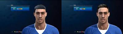 PES 2013 Ramiro Funes Mori (Everton F.C) Face by Nadir FaceMaker