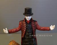 statuina attore teatro mago ritratto spettacolo cosplayer magia orme magiche