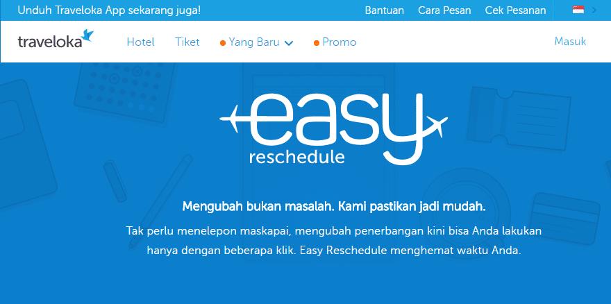 Cara Mudah Reschedule Jadwal Tiket Pesawat Di Traveloka Teknodiary
