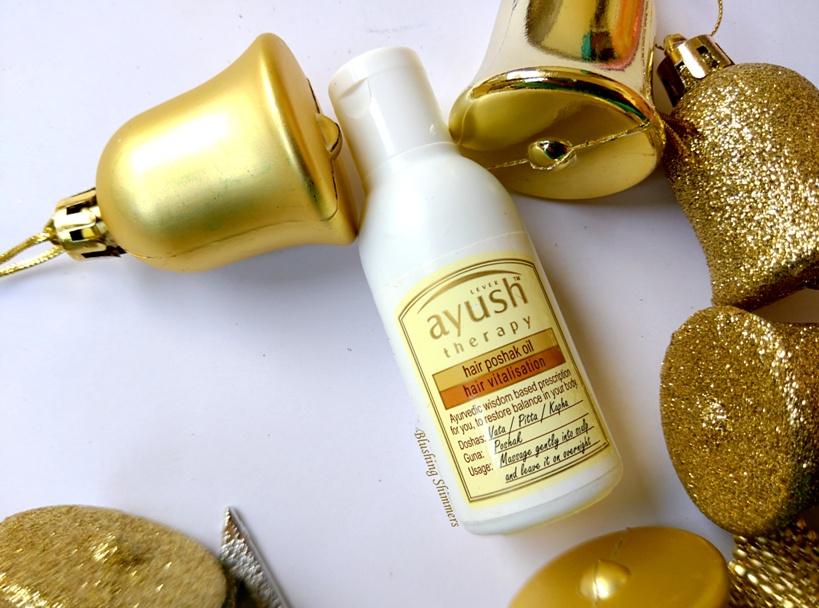 Lever Ayush Hair Poshak Oil