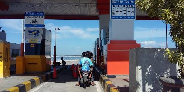 Jalan Tol Khusus Motor di Tol Bali Mandara