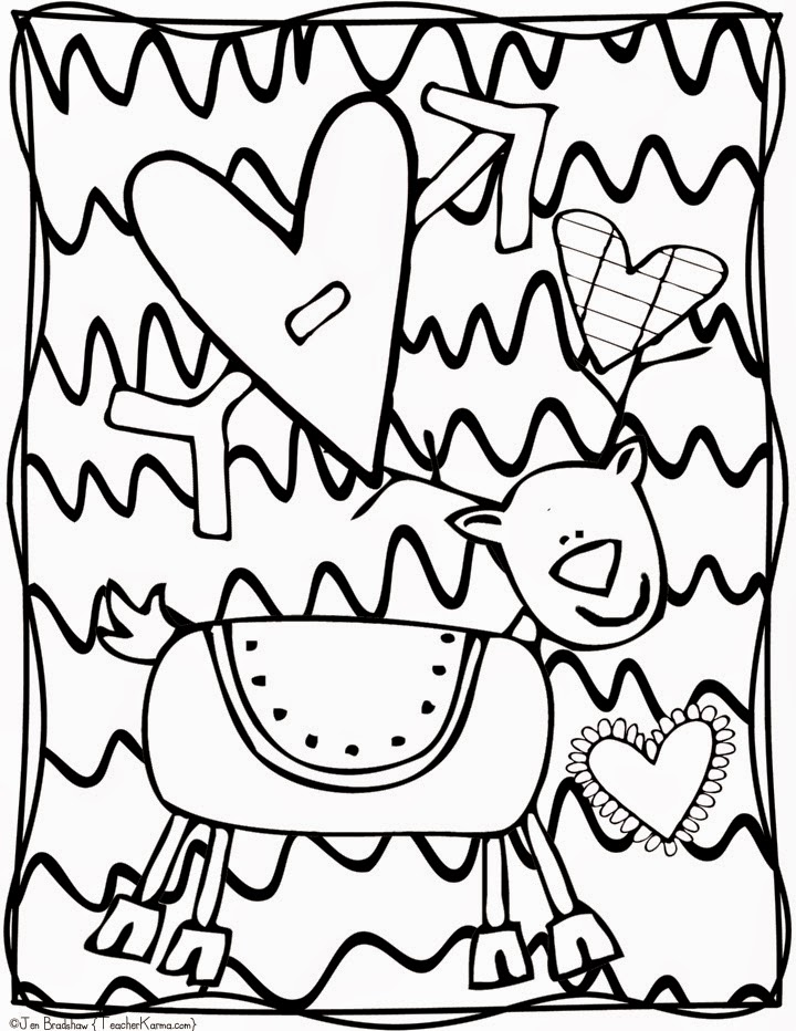 Teacher Karma: FREE: Christmas Doodle Coloring Pages