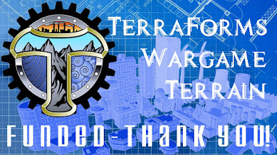 TerraForms Tabletop Wargame Terrain 10mm/12mm scale