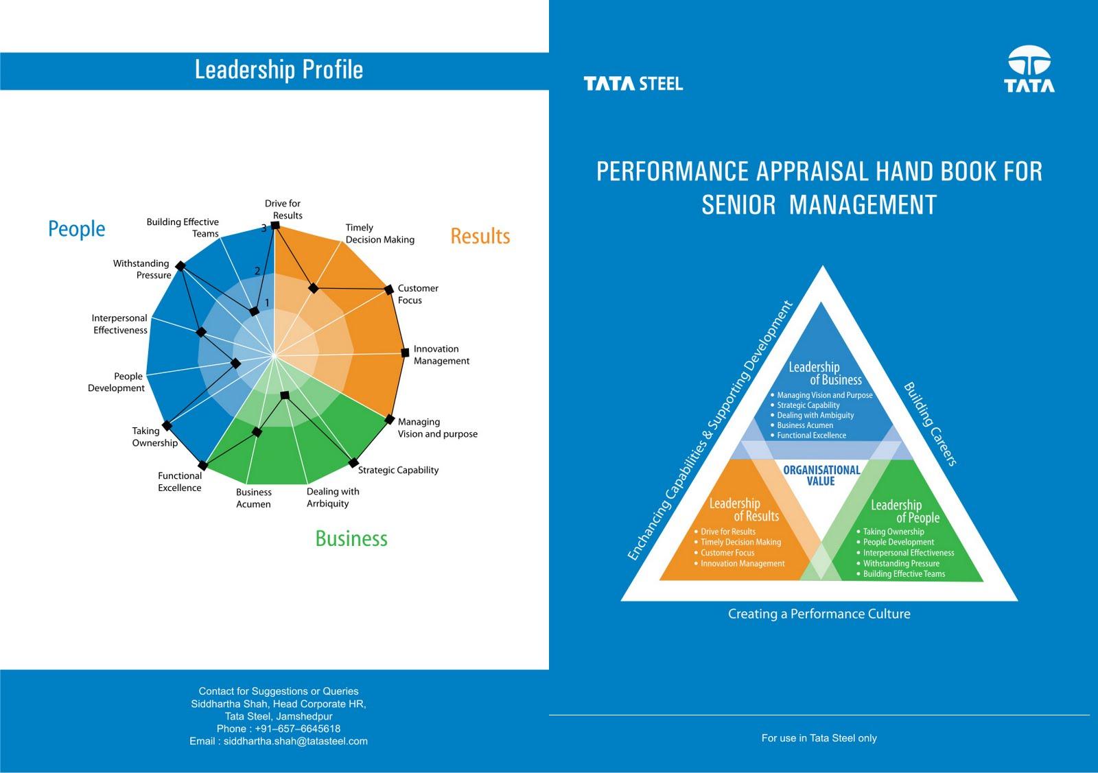 Graphics Insiders: TATA STEEL HR BROCHURE DESIGN