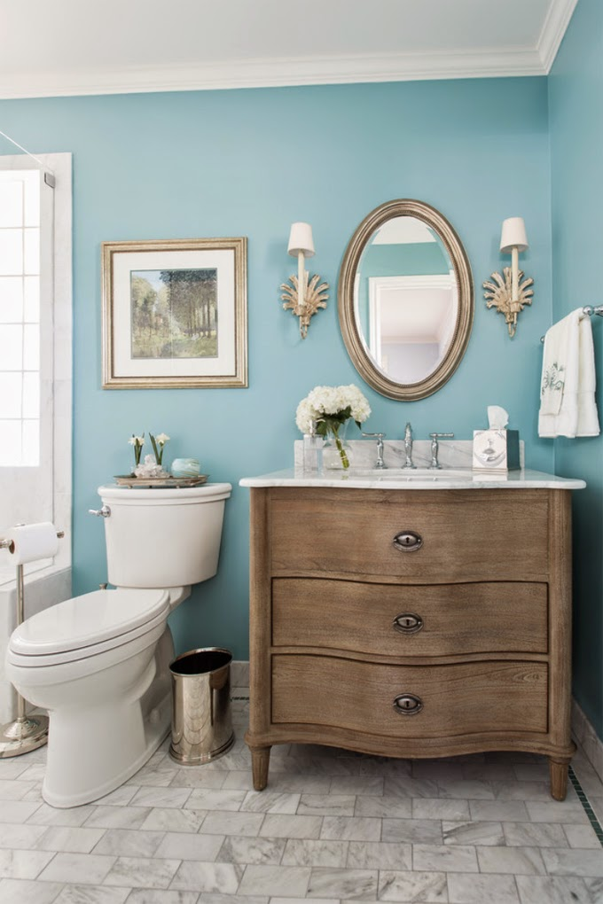 Spa Like Master Bathroom Decor Paint Colors