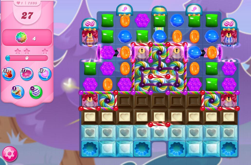 Candy Crush Saga level 7595