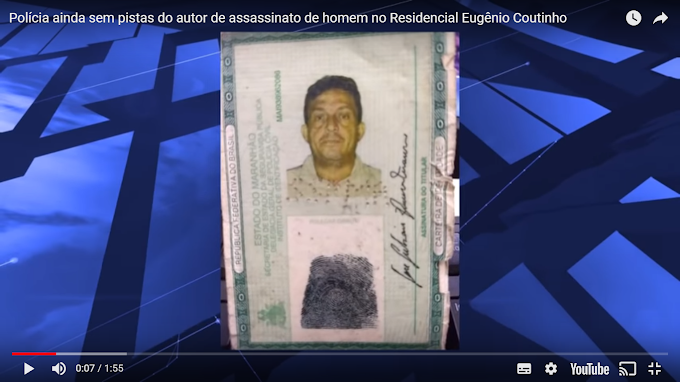 CAXIAS - Polícia ainda sem pistas do autor de assassinato de homem no Residencial Eugênio Coutinho