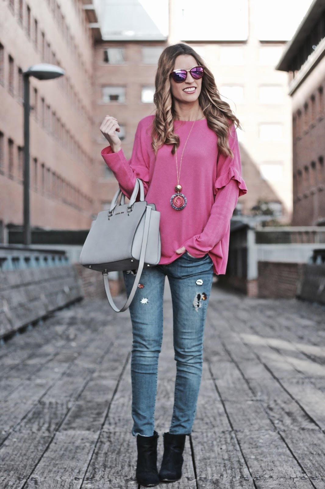 jersey rosa fucsia