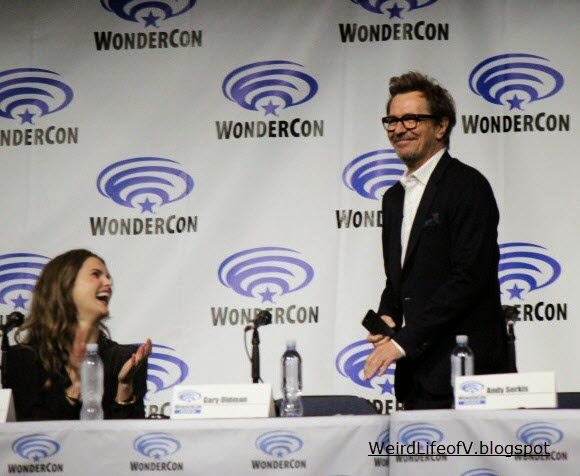 Keri Russell and Gary Oldman