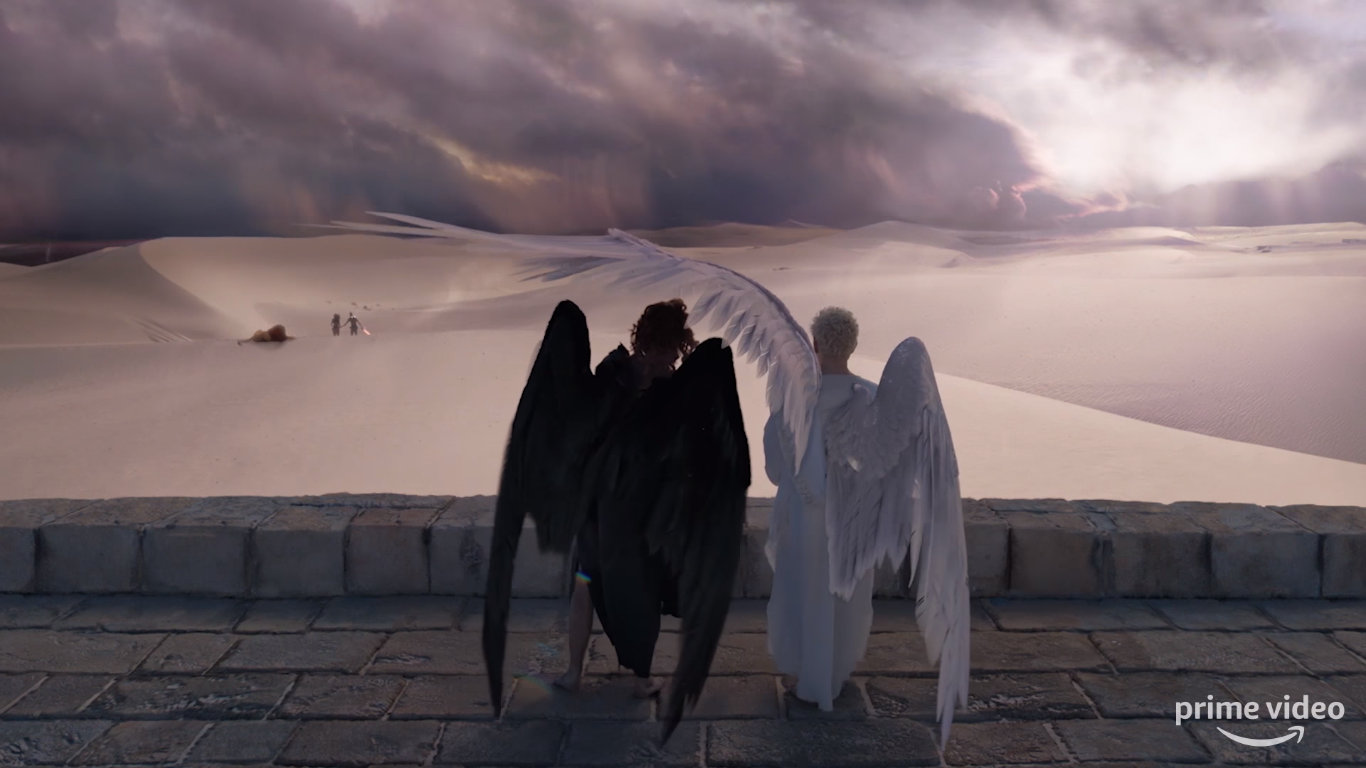VIDEO & PHOTOS: First Teaser Trailer For Good Omens Released Taylor Crowley