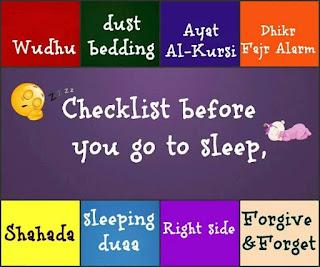 Sleeping Manners