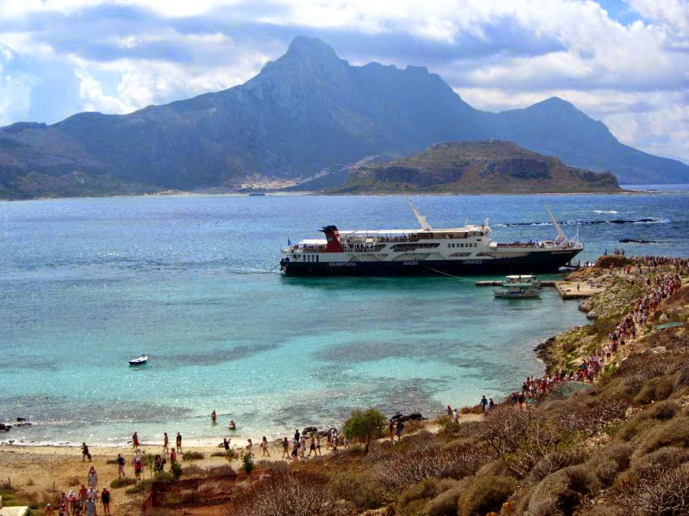 Boat of Gramvoussa Cruises