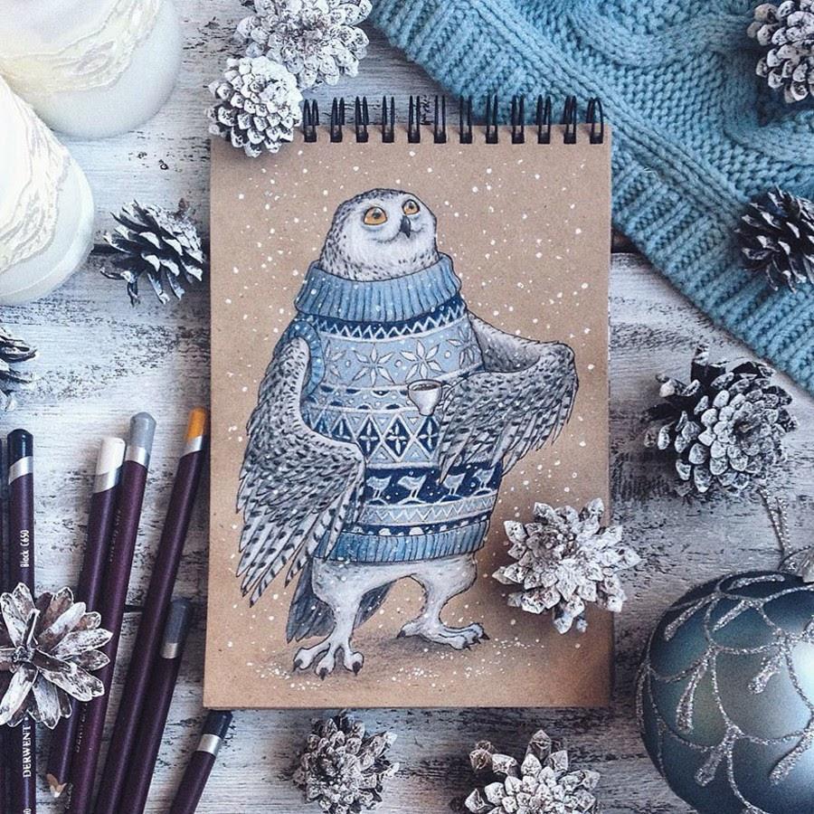 08-White-Owl-Lia-Selina-www-designstack-co