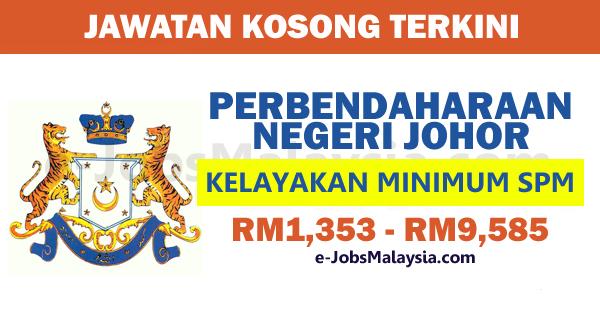 Perbendaharaan Negeri Johor