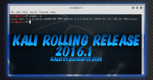 Kali rolling 2016