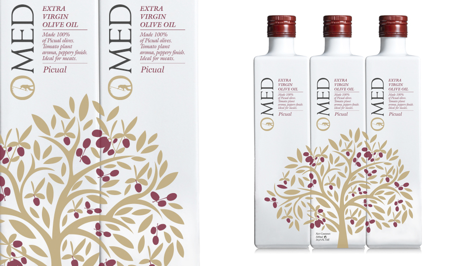 Omed Extra Virgin Olive Oil Limited Edition On Packaging Of The