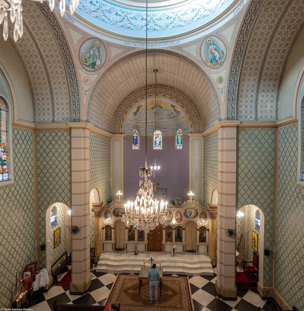 Igreja Ortodoxa Antioquina São Jorge - interior