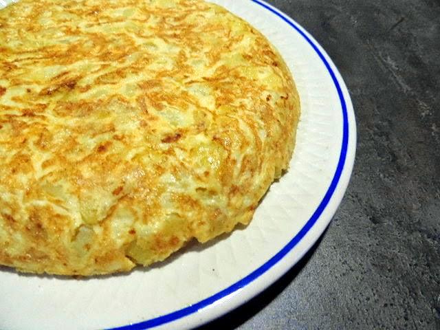 Marronglac tortilla de patata en microondas - Tortilla en el microondas ...