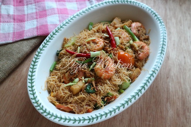 Mee Hoon Goreng Sedap Azie Kitchen