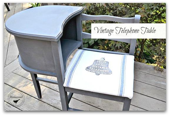 Black Bell Telephone seat