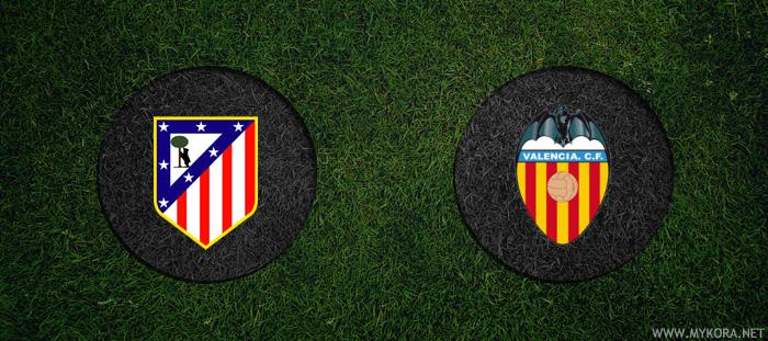 اتلتيكو مدريد وفالنسيا بث مباشر