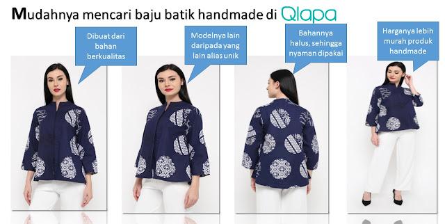 Baju Batik Handmade di Qlapa - Blog Mas Hendra