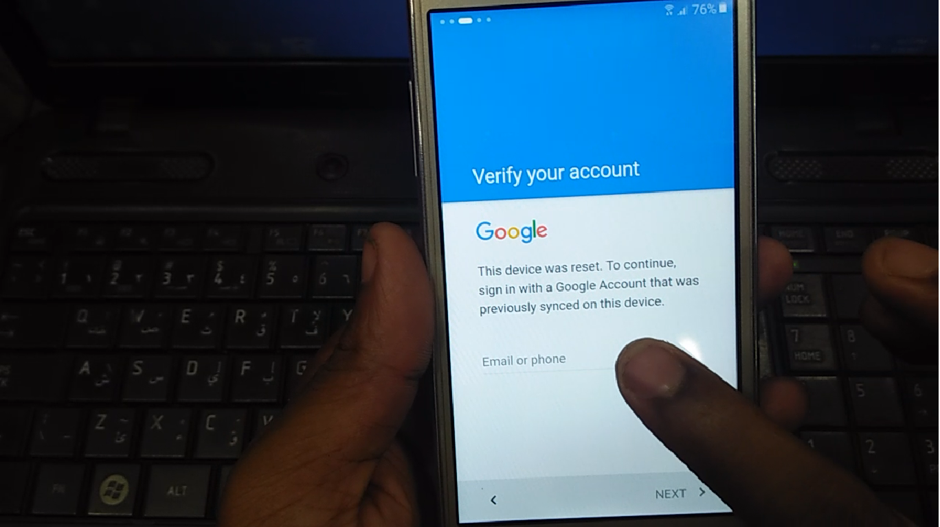 SM-G532F Samsung Grand Prime Plus Google Account Bypass