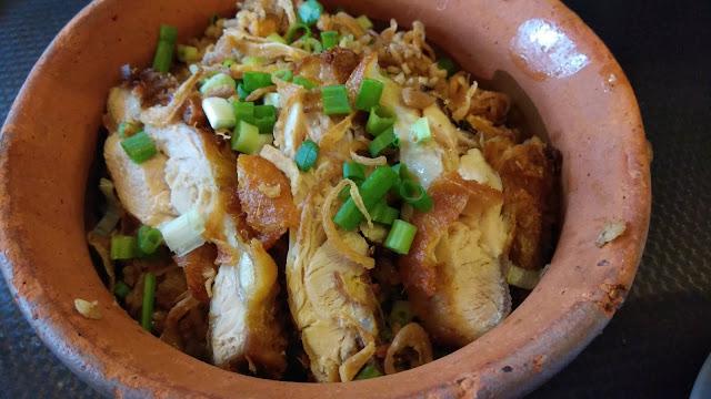Salah Satu Menu Lunch Kami di Resto Kampong Melayu