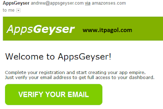 Now Verify Your Email address.