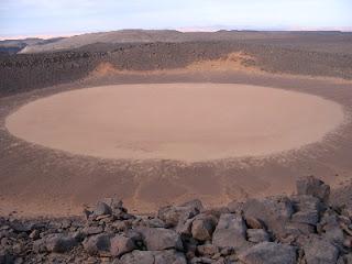 Amguid crater, Algeria