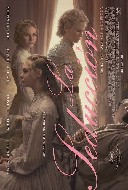 La seducción (The Beguiled, 2017) de Sofia Coppola.
