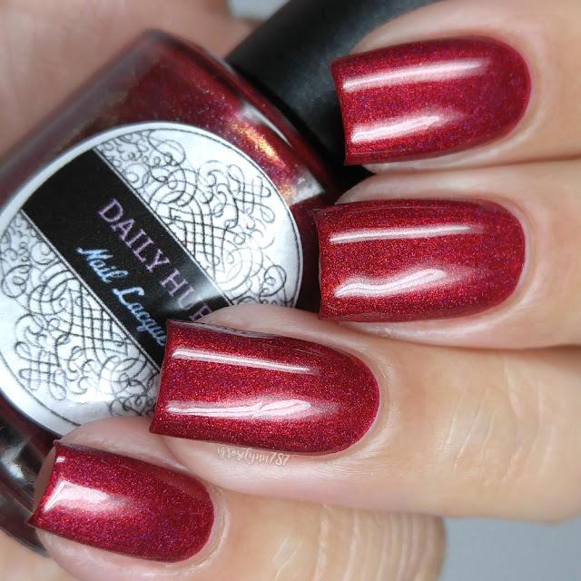Daily Hues Lacquer - Crimson