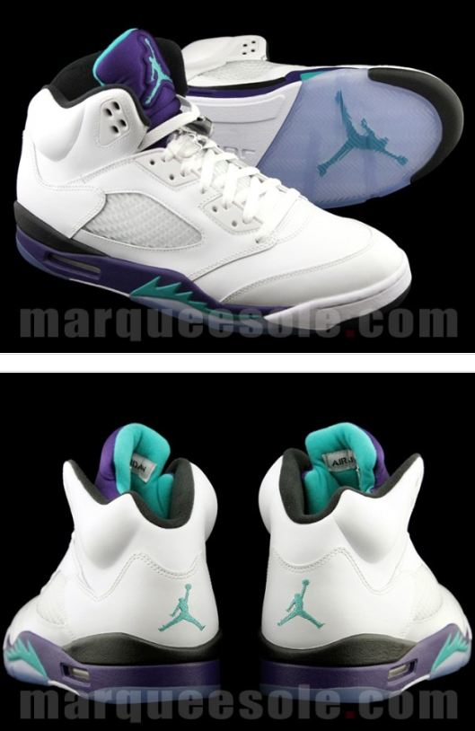 "new style 581e3 81216 ... at the 2013 Air Jordan 5 ""Grape"" Sneaker releasing on May 3rd, this will  definitely be one of the huge releases for Jordan Brand for 2013."